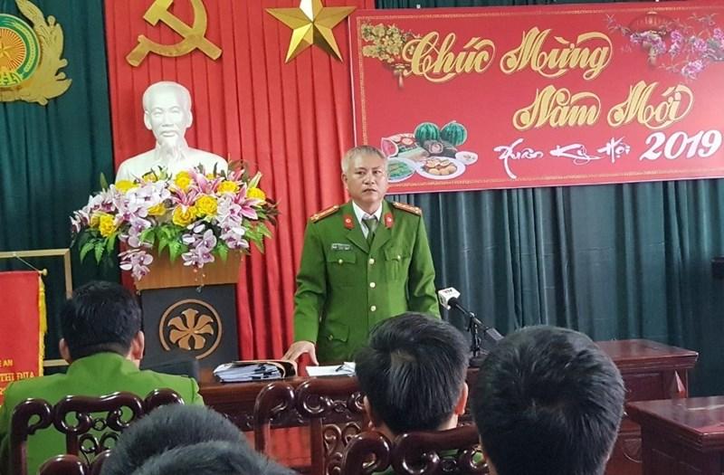 Đại tá Phạm Hoài Nam thông tin về vụ việc