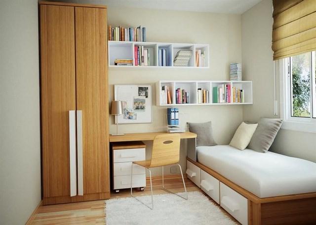 Cách thiết kế, bố trí phòng ngủ có diện tích nhỏ hẹp - Ảnh 1