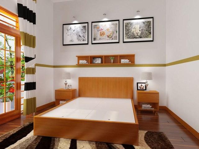 Cách thiết kế, bố trí phòng ngủ có diện tích nhỏ hẹp - Ảnh 2
