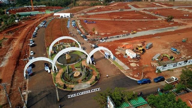 Khu đô thị 2.800 tỷ của Trung Nguyên tại Đắk Lắk