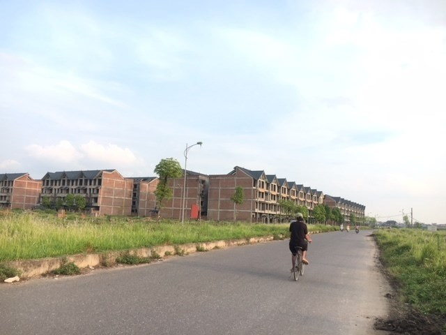 Khu đô thị Kim Chung - Di Trạch (Hoài Đức, Hà Nội) 10 năm vẫn ngủ quên trong um tùm cỏ dại.