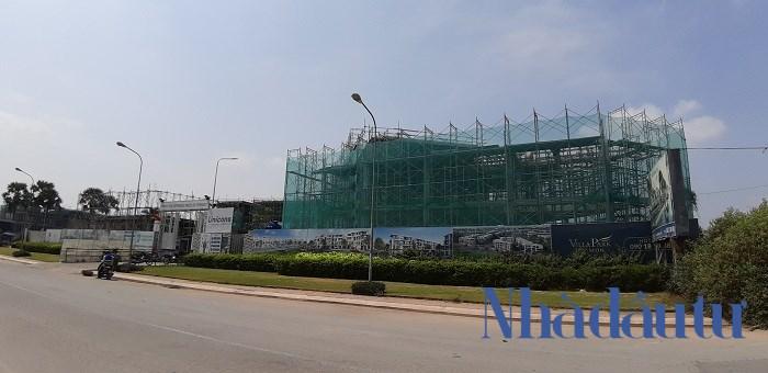 Dự án Villa Park tọa lạc tại đường Bưng Ông Thoàn, phường Phú Hữu, Quận 9, nằm giữa cửa ngõ kinh tế phía Đông Sài Gòn. Ảnh: Chu Ký