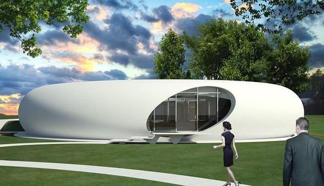 Cửa di động cao 2,8m có thể mở tới 180 độ và cánh cổng có thể cuộn xuống được làm bằng nhôm và Anodized trắng. Những bức tường dày bên ngoài cùng hệ thống nhiệt lai sẽ giúp tích lũy năng lượng vào cả ban ngày và ban đêm.