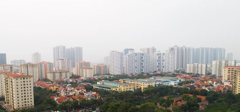 Khu vực Mỹ Đình (Nam Từ Liêm) cũng thu hút nhiều dự án phát triển nhà ở trong những năm qua.