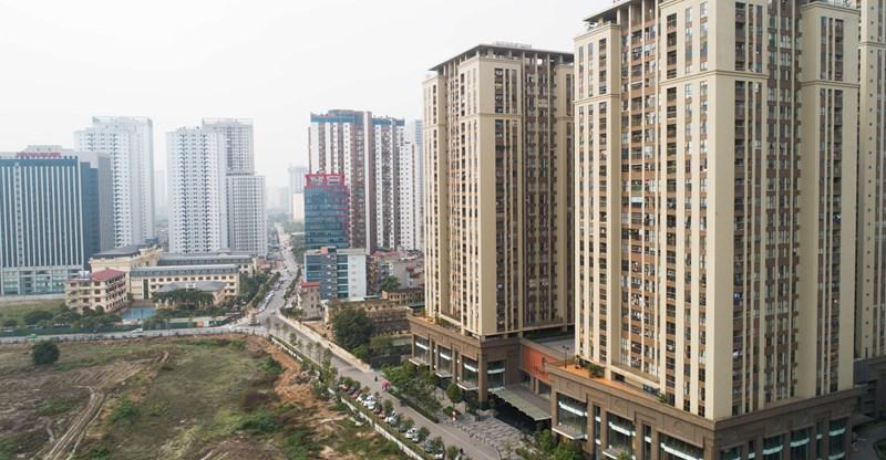 Khu vực Trung Hoà, Yên Hoà (Cầu Giấy) hiện là một trong những khu vực có nhiều dự án BĐS nhất ở Hà Nội.
