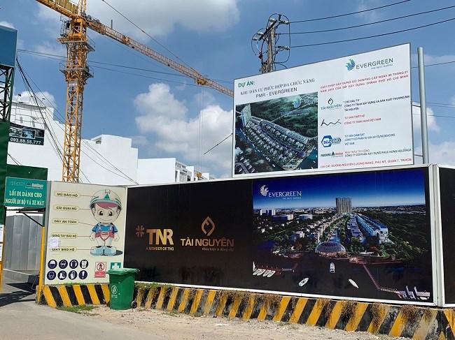 Dự án có vốn 1.992 tỷ đồng với 96 căn cao 24 tầng, giá bán bán dự kiến 1 triệu USD/căn. Hiện, 94 căn hộ chung cư cao tầng (Sky villa) của dự án đã được chủ đầu tư thế chấp quyền sử dụng đất và nhà ở hình thành trong tương lai cho Ngân hàng TMCP Hàng Hải Việt Nam (Maritime bank).