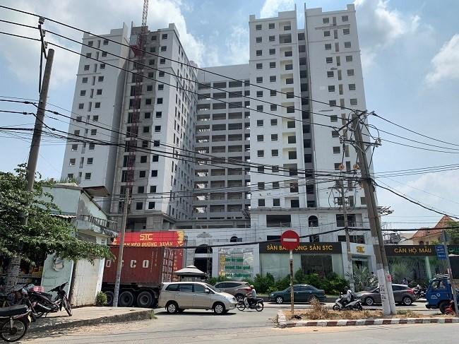 Cuối tháng 8/2018, Sở Xây dựng xác nhận 293 căn hộ thuộc dự án đủ điều kiện để bán nhà ở hình thành trong tương lai. Tuy nhiên, hiện chủ đầu tư Công ty Cổ phần STC Corporation đã thế chấp quyền sử dụng đất và tài sản hình thành trong tương lai tại Ngân hàng TMCP Đầu tư & Phát triển (BIDV) – chi nhánh 3/2.