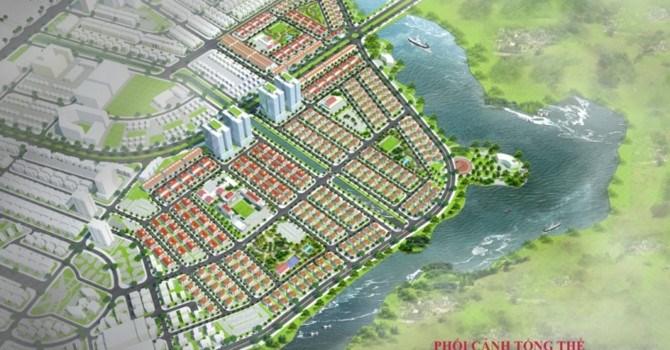 Phối cảnh dự án của Công ty CP Đầu tư Bất động sản Prime Land bỏ hoang ở Mê Linh.