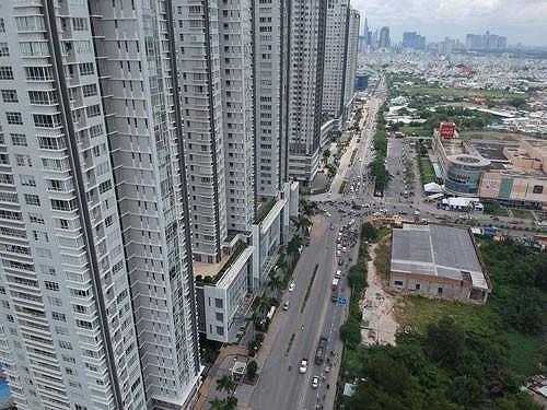 Vốn vay ngân hàng đổ vào nhà đất, căn hộ từ 3 tỷ đồng trở lên bị áp hệ số rủi ro cao hơn.
