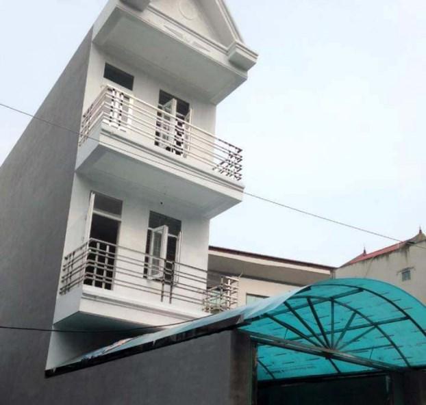 Căn nhà xây 3 tầng trên mảnh đất 70m2 chúng tôi xây khi vay tới 25% tiền của người thân.