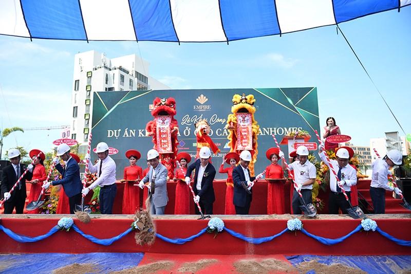 Tập đoàn Empire Group tổ chức lễ khởi khu nhàở cao cấp NamanHomes ngày 25/5/2019