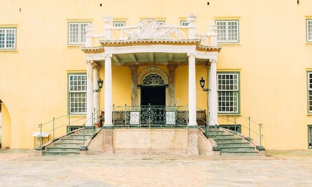 Lâu đài Good Hope là công trình kiến trúc lâu đời nhất Nam Phi.