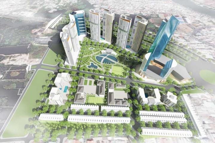 Phối cảnhdự án Eco Green Saigon
