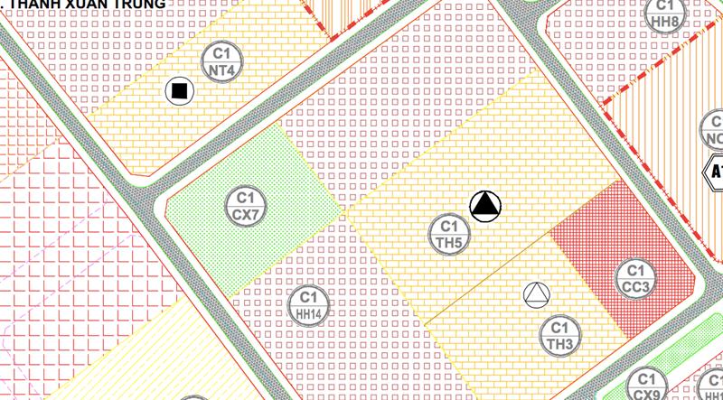 Bản đồ quy hoạch khu vực nhà máy Rạng Đông.