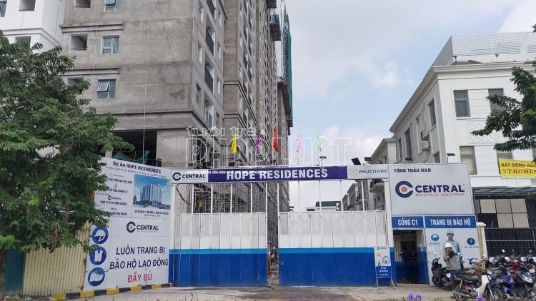 Dự án Hope Residences nằm ở vị trí đắc địa tại phường Phúc Đồng, quận Long Biên, Hà Nội.
