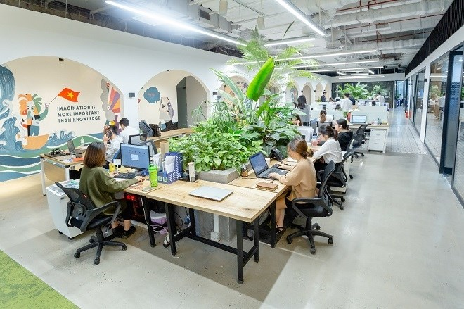 Sau 5 năm, mức giá cho thuê văn phòng hạng A tại Hà Nội và TP.HCM đã có sự khác biệt lớn,