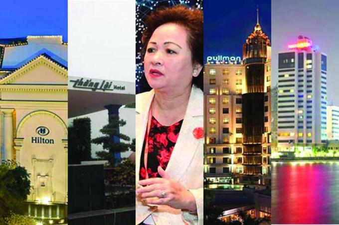 Từ năm 2013, các thương vụ thâu tóm đất vàng đã đem lại mức doanh thu khoảng 435 triệu USD cho bà Nguyễn Thị Nga - Chủ tịch BRG.