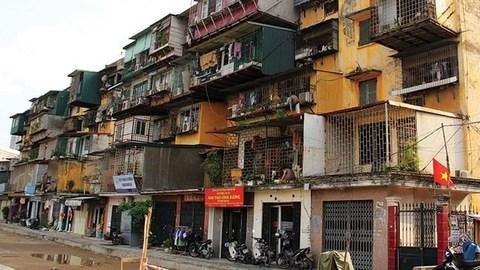 Cải tạo chung cư cũ đang rơi vào bế tắc