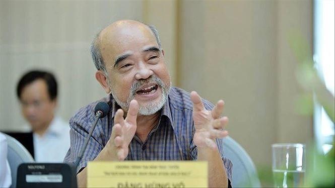 GS Đặng Hùng Võ, nguyên Thứ trưởng Bộ Tài nguyên môi trường.