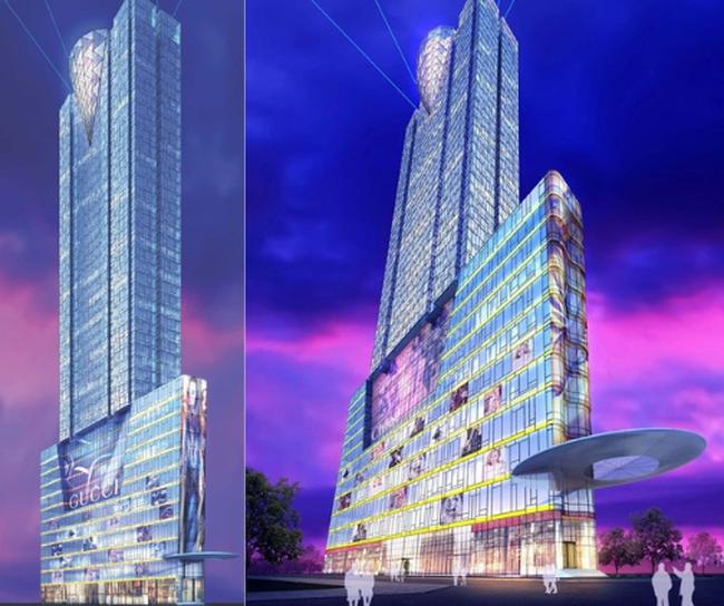 Phối cảnh dự án SJC Tower.