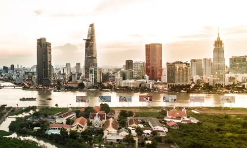 Thị trường bất động sản TP HCM. Ảnh: Lucas Nguyễn.