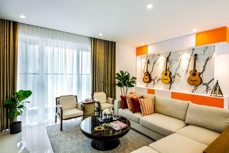 Căn 3 phòng ngủ, diện tích thông thủy: 99.48 – 100.58m2