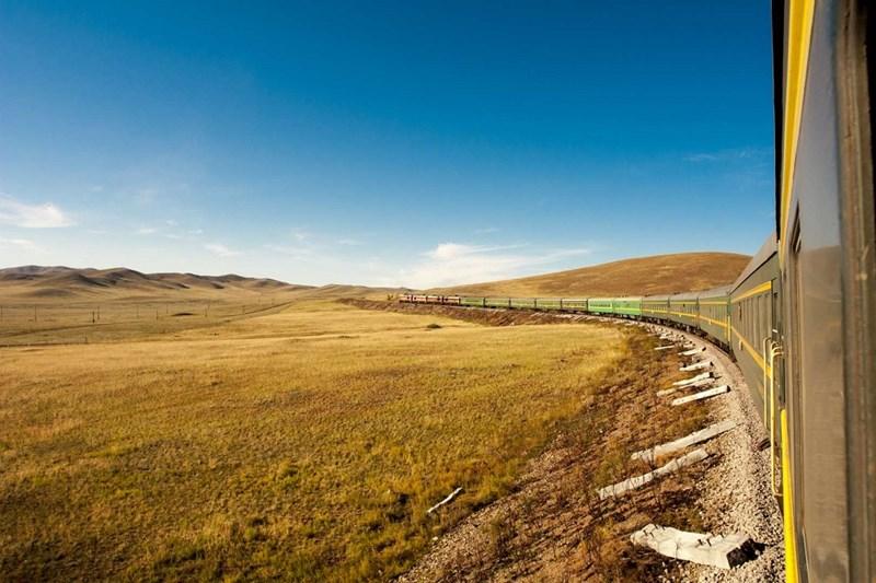 Hành trình đường sắt dài nhất mà không đổi tàu - Moscow, Nga Pyongyang, Triều Tiên(10214km)