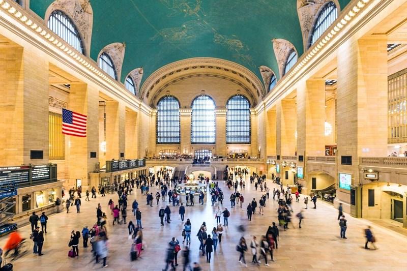 Ga đường sắt rộng nhất tính theo số sân ga - Ga Grand Central Termirnal tại thành phố New York, Mỹ (44 ga)