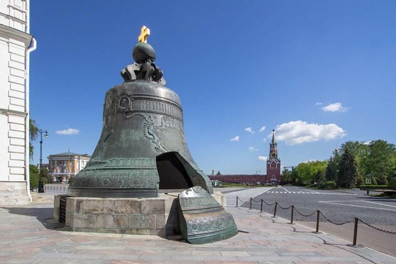 Chuông to nhất từ trước đến nay, Tsar Kolokol tại Moscow, Nga 183.251kg