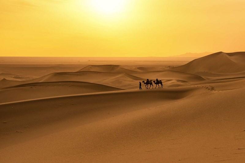 Sa mạc rộng nhất, nóng nhất Thế giới - the Sahara, 9.100.000 Triệu Km2