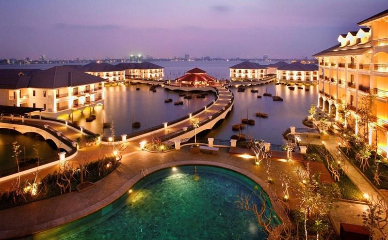 Khách sạn InterContinental Hanoi Westlake. (Ảnh: Booking)