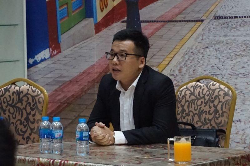Ông Lương Xuân Mạnh, Giám đốc Điều hành Công ty TNHH BĐS Nam Thị.