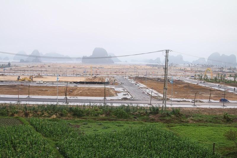 Một dự án tại Vân Đồn đang triển khai hạ tầng