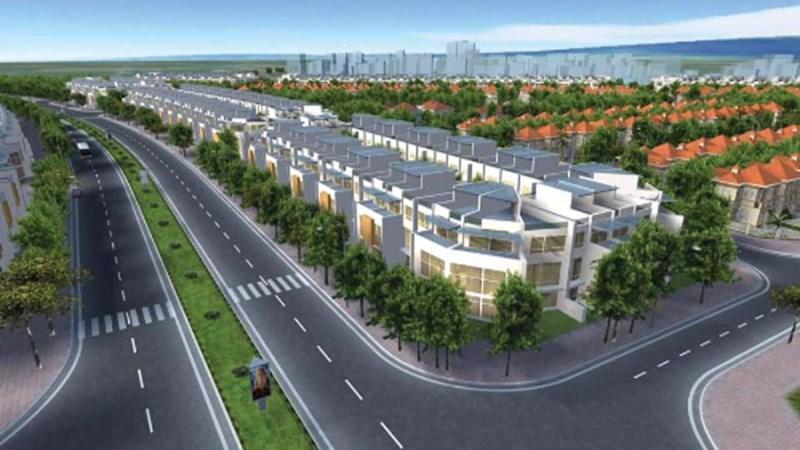 Phối cảnh Dự án đô thị mới Vương Long, Vân Đồn