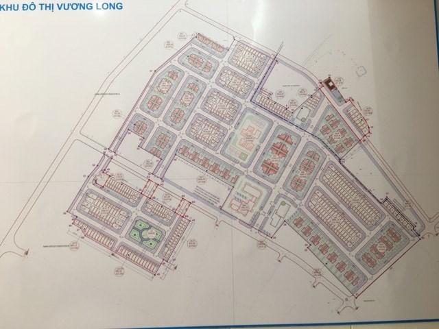 Sơ đồ phân lô dự án đô thị mới Vương Long, Vân Đồn