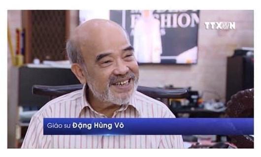 GS.TSKH Đặng Hùng Võ trên TH Thông Tấn 20h 24/4/2019