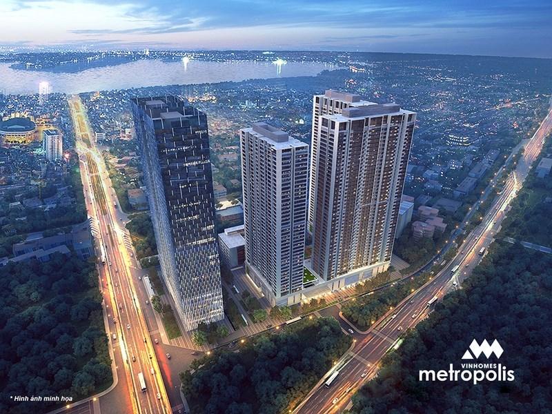 Tổ hợp căn hộ cao cấp Metropolis Liễu Giai đang hút khách thuê phân khúc giá từ $1600 - $2200