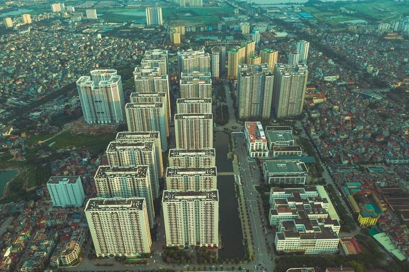 Times City bao gồm nhiều phân khu chức năng:căn hộ,trung tâm thương mại,bệnh viện,trường học,công viên,hồ nước,hồ bơi,thủy cung,quảng trường với sân khấu nhạc nướcđặc trưng...