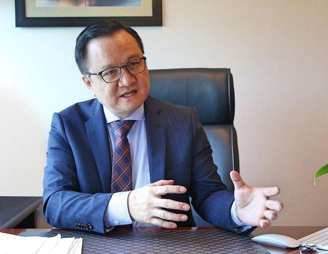 Ông Nguyễn Vĩnh Trân - Tổng giám đốc Tập đoàn MIKGroup.