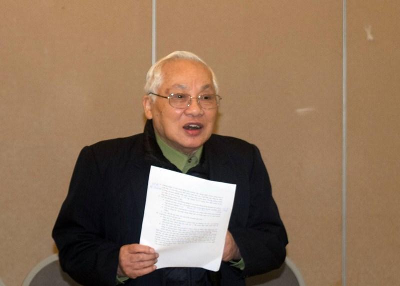 Ông Phạm Sỹ Liêm tại buổi hội thảo do VCCI tổ chức