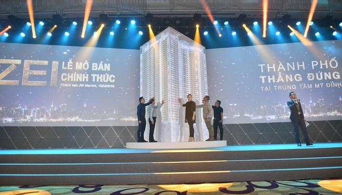 The Zei đã chốt thành công gần 200 giao dịch mua căn hộ với lượng quan tâm lớn từ khách nước ngoài, chiếm hơn 70%Ảnh Vneconomy