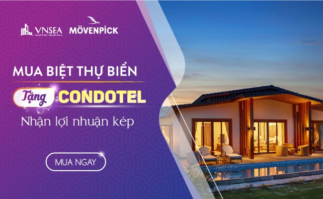Dự ánMovenpick Resort Camranh do Công ty CP Eurowindow Nha Trang làm chủ đầu tư.