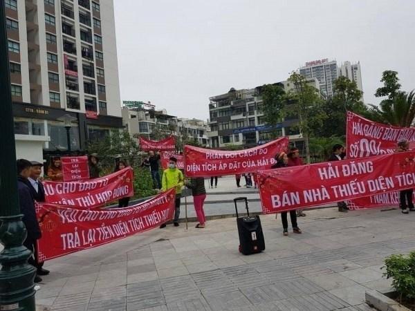 tranh chấp pháp lý giữa chủ đầu tư và cư dân Mon City