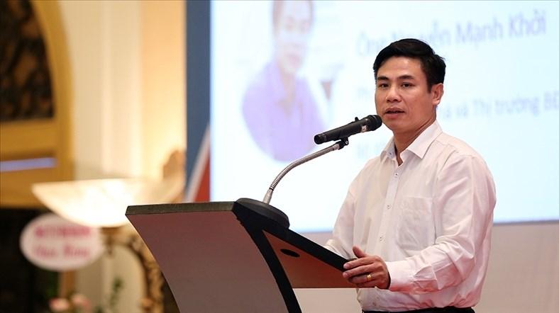 Ông Nguyễn Mạnh Khởi, Phó cục trưởng Cục Quản lý nhà và thị trường bất động sản (Bộ Xây dựng