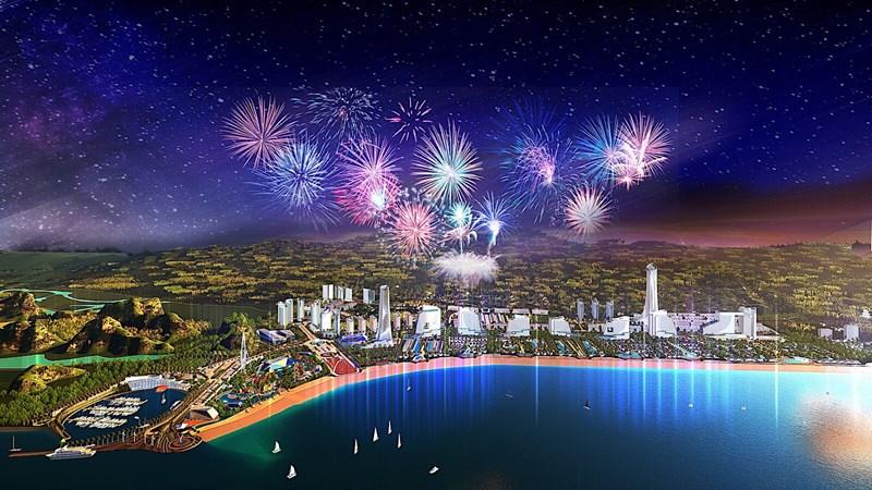 Khi hoàn thành, Sonasea Vân Đồn Harbor sẽ thành biểu tượng du lịch của Vân Đồn-Bái Tử Long