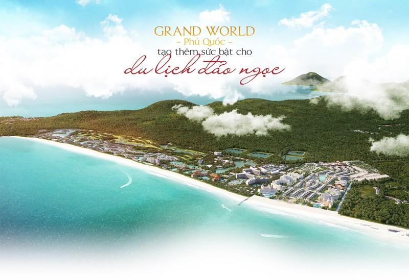Dự án Grand World có tổng cộng~12 nghìn Condotel , ~1000 Shophouse và 86 lô Minihotel.