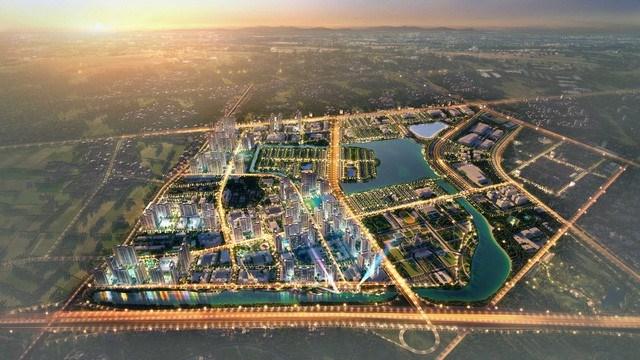 VinHomes Ocean Park, dự án đại đô thị diện tích 420ha, đây hiện là dự án lớn nhất của VinGroup tại Hà Nội