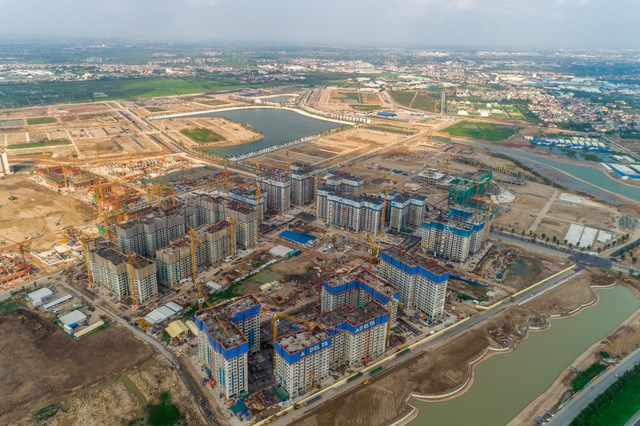 Các đại đô thị của VinGroup sẽ là điểm sáng của khu vực trong tương lai gần.