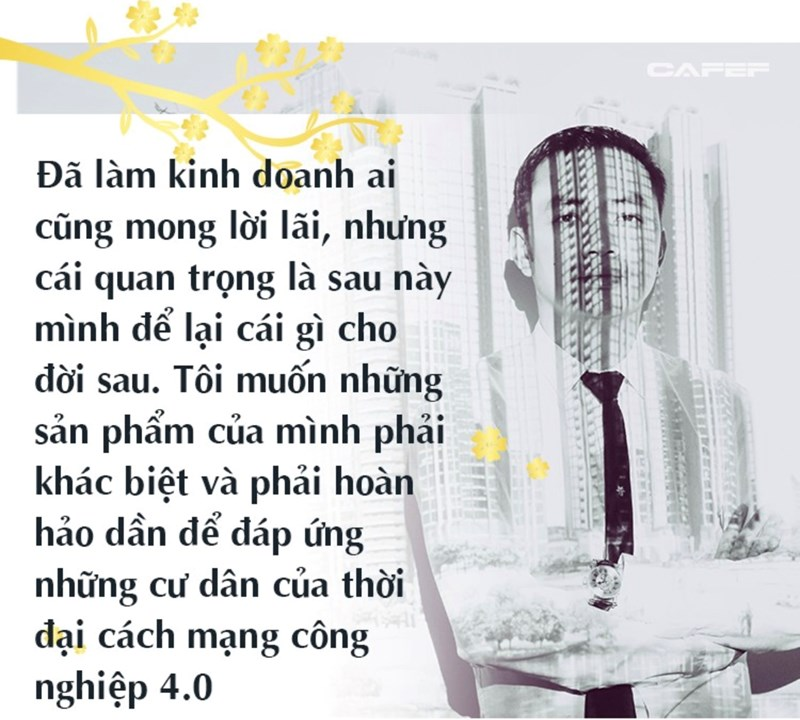 """Vị """"thuyền trưởng"""" của tập đoàn Sunshine, ông Đỗ Anh Tuấn rất tâm huyết trong việc ứng dụng công nghệ cao vào ngành bất động sản."""