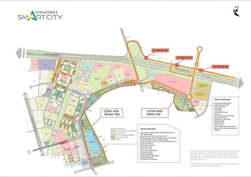 Review đại đô thị thông minh Vinhomes Smart City Tây Mỗ - Ảnh 2